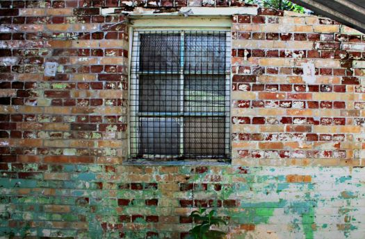 A Funky Window AND a Funky Wall
