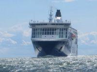 Big Ship Approaching