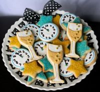 New Year Sugar Cookies
