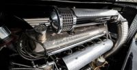 1938 Maybach SW38 Roadster by Spohn - Engine