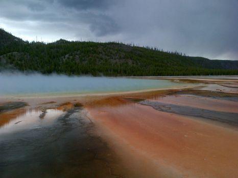 Prismatic Spring: Yellowstone
