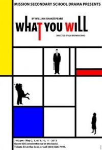 What You Will poster (small)