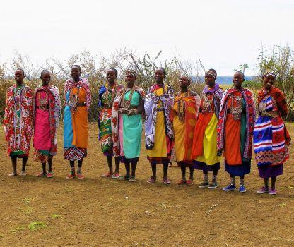Bright Coloured Clothes