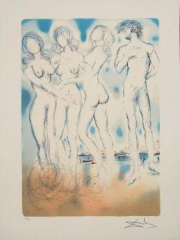 Salvador Dalí - The Judgement of Paris (1979)
