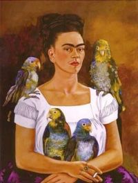 Me and My Parrot, 1941, Frida Kahlo (1907-1954)