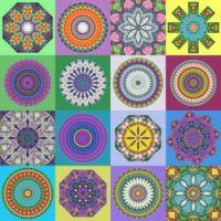 Kaleidoscope Collage: Medium