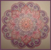 Pink Mandala, small