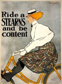 Bicycle advertising poster 1896