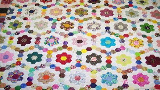 grandmother's garden quilt
