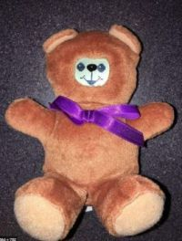 1997  OddzOn e-dot-Babies electronic interactive teddy