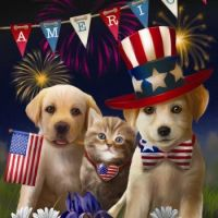 Celebrate with Friends on 4th of July