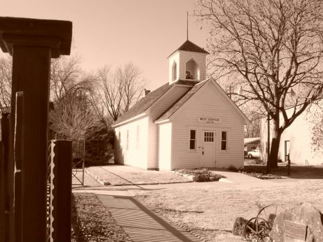 Cute little school house in Lindsborg, Kansas.