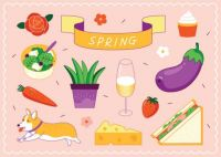 Spring Feels and Food