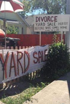 Yard sale :-)