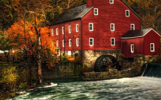 Autumn Mill