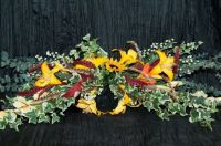 Country wall wreath