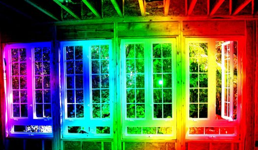 Rainbow Sunroom Construction - medium