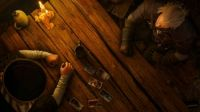 The Witcher 3 Wild Hunt - Geralt playing Gwent