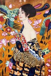Gustav Klimt, Signora con Ventaglio