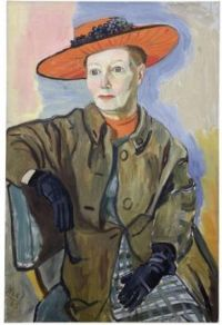 Alice Neel-portrait of Mary Shoemaker, 1965