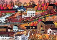 Waterfall Valley by  Charles Wysocki