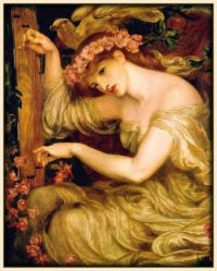 D G Rossetti - A Sea Spell, 1877