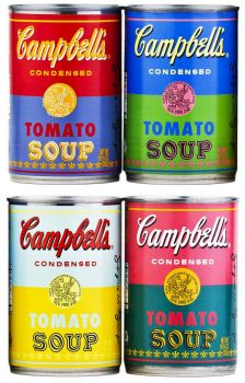 Warhol Soup Cans