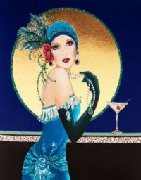 Art Deco Lady