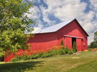 Beautiful Red Barn - Champaign County, Ohio
