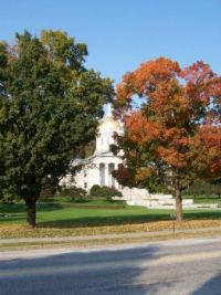 Indian Summer in Montpelier, Vermont