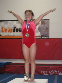Our 1st Place Gymnast Regan
