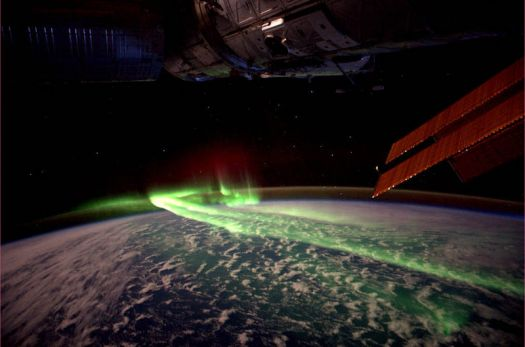 The Aurora Australis from Space
