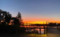 Sunset Over the Cape Fear River Nov 2020