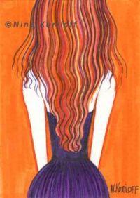 Her Purple Dress