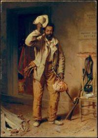 A Bit of War History- The Contraband, Thomas Waterman Wood, 1865