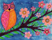 Goodnight Owl by Sascalia @ Etsy