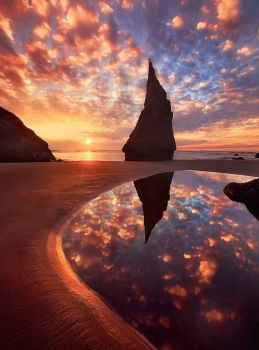 Wizards Hat - Bandon, Oregon - photog unknown