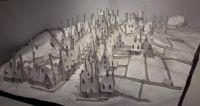 Model of Hogsmeade village / Harry Potter Warner Bros. studios, London/Watford