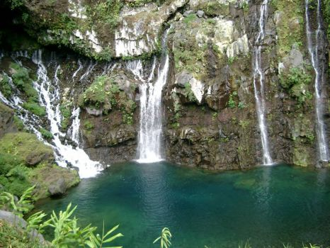 Waterfalls, Reunion Island