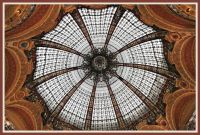 Galleries lafayette dome, Paris
