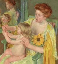 Mary Cassatt Artwork - 'Sun Flower'