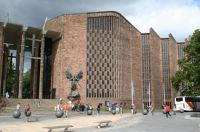 Coventry Cathedral. Hope rises from the ashes of destruction.