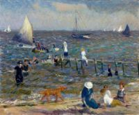 William James Glackens (USA 1870-1938) The Little Pier