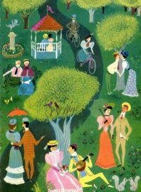 Summertime Walk in the Park by Alicia Fontenele