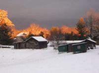 Sunset on Barns