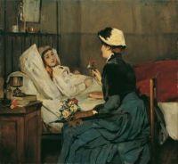 Der Besuch am Krankenbett (1883)