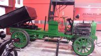 Early Packard Dump Truck