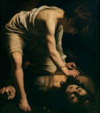 David and Goliath (1599) by Michelangelo Merisi da Caravaggio - 1st version
