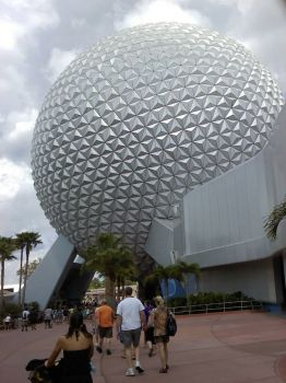 Obligatory Disney Photo: Spaceship Earth- 0320121423