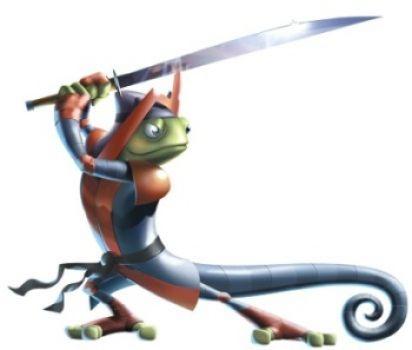A dangerous Gecko!